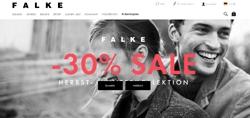 Screenshot Falke Sale 2017