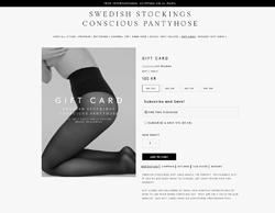 Gutschein Swedish Stockings