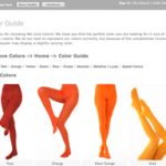 Welovecolors bietet Strumpfhosen in 51 Farben