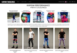 Screenshot Kapow Meggings