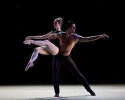 Foto von Marcelo Gomes mit Tanzpartnerin