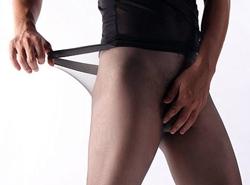 Nahtlose Strumpfhose für Männer