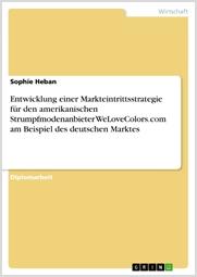 Titelbild des Buches von Sophie Heban