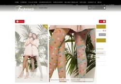 Screenshot Trasparenze Blumenstrumpfhose