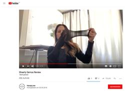 Screenshot Youtube Honeylove