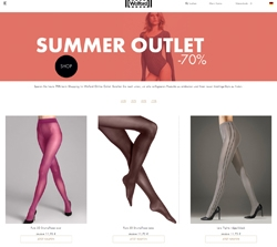 Screenshot Wolford Summer Sale 2018
