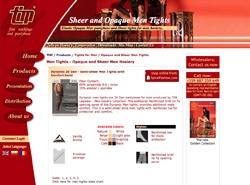 Screenshot TIM Männerstrumpfhosen