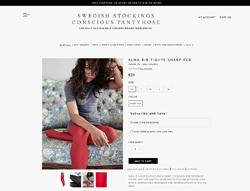 Screenshot Swedish Stockings Alma Rippenstrumpfhose
