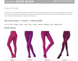 Screenshot Welovecolors