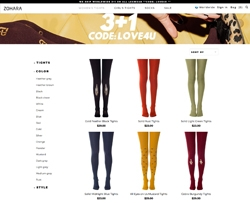 Screenshot Zohara Tights