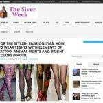 Für Onlinemagazin liegen Strumpfhosen im Trend