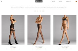 Screenshot Wolford Outlet