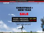 Screenshot Kapow Meggings Sale