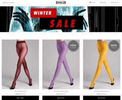 Screenshot Wolford Winter Sale 2018