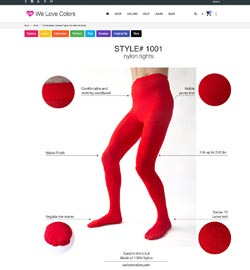 Screenshot Welovecolor Style Guide