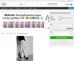 Screenshot BellaSeven Onlineshop