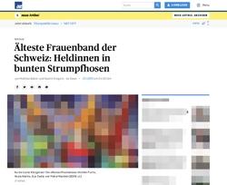 Screenshot Aargauer Zeitung online