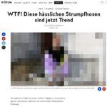 instyle.de hält Logo-Strumpfhosen für hässlich