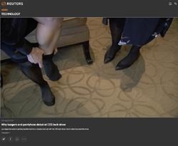 Screenshot Reuters CES Video
