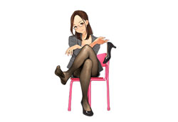 Klassenlehrerin Yuiko Okuzumi