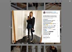 Screenshot Instagram Pernille Teisbaeck