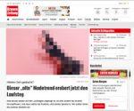 Screenshot Kronen Zeitung