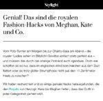 Modejournalistinnen und ihr Faible für Royals