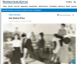 Screenshot Westdeutsche Zeitung