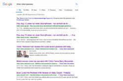 Screenshot Google Kirsty Usher