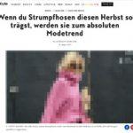 instyle.de entdeckt bunte Strumpfhosen  als Trend