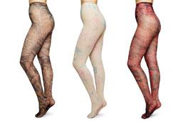 Drei Ganni Strumpfhosen von Swedish Stockings