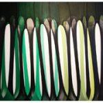Kunst mit Strumpfhosen in Ausstellung in England