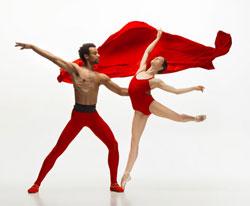 Balletttänzer in Strumpfhosen