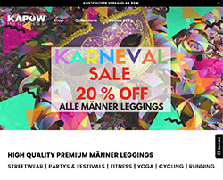 Karneval Sale bei Kapow Meggings