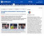 Sportberichterstattung beschäftgt sich mit Strumpfhosen