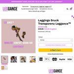 Wärmende Leggance gaukeln Transparenz vor