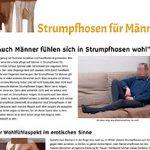 Neue Homepage zum Thema Männerstrumpfhosen