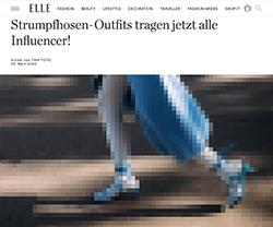 Strumpfhosen zu offenen Schuhen
