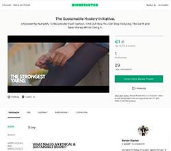The Legwear Co bei Kickstarter