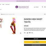 Leggings mit Ganesha Motiv empören Hindus
