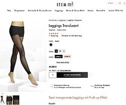 Screenshot Shape Leggings bei item m6