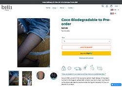 Screenshot Coco Biodegradable
