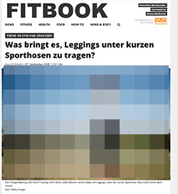 Screenshot fitbook.de