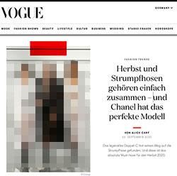Screenshot vogue.de