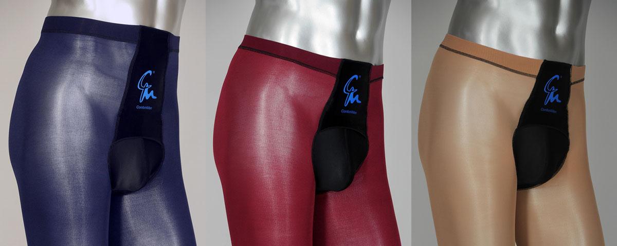 Drei neue Strumpfhosenmodelle von Comfort4Men