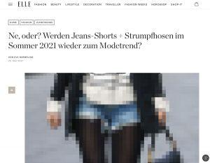 Screenshot Elle