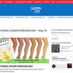 National Nylon Stocking Day in den USA