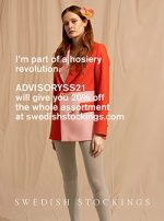 Mitglied im Swedish Stockings Advisory Board