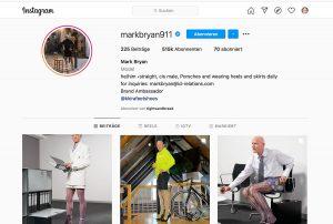 Der Instagram Account von Mark Bryan