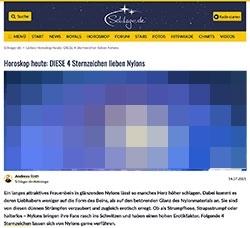 Screenshot schlager.de